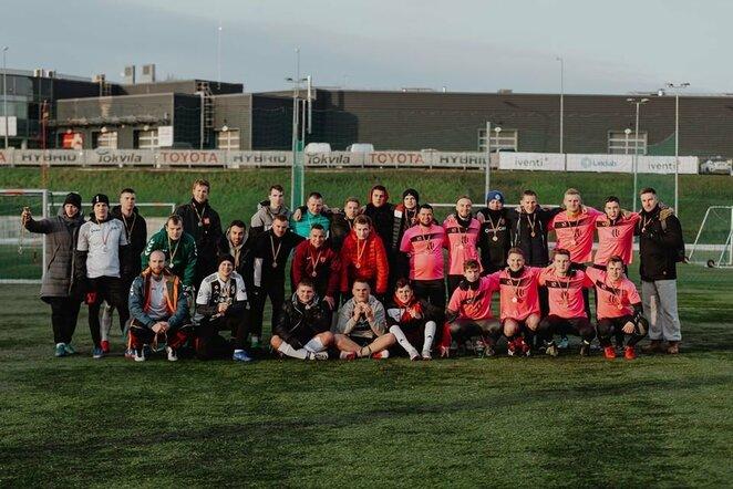 Futbolo mėgėjai vasario 16-ąją pažymėjo tradicija tapusiame labdaros turnyre   Organizatorių nuotr.
