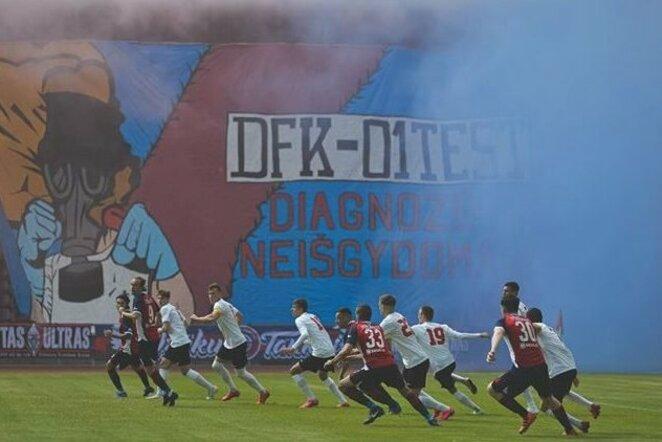 Dainavos rungtynių akimirka   D.Aleksyno/DFK Dainava nuotr.