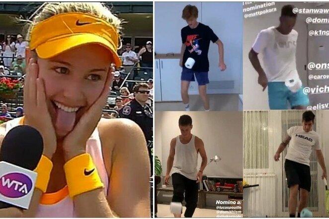 Teniso žvaigždžių karantinas | Instagram.com nuotr