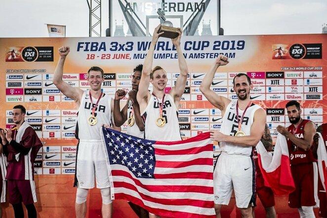 JAV 3x3 krepšinio rinktinė | FIBA nuotr.