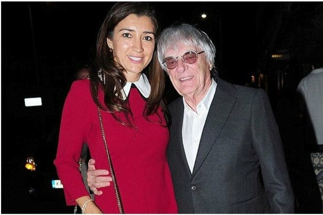Fabiana Flosi ir Bernie Ecclestone'as | Instagram.com nuotr