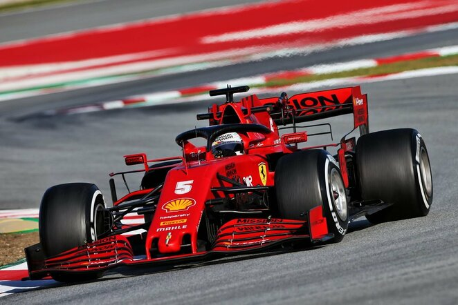 Sebastianas Vettelis   Scanpix nuotr.