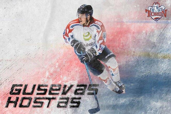 Kostas Gusevas   hockey.lt nuotr.