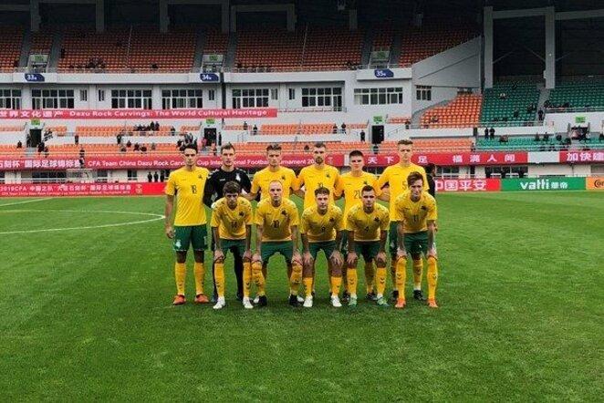 Lietuvos U22 futbolo rinktinė   lff.lt nuotr.