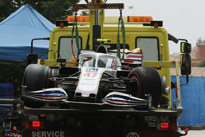 Micko Schumacherio bolidas   Scanpix nuotr.