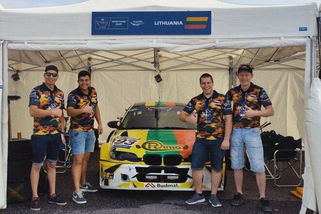 """""""#TeamLithuania"""" atvyko į pasaulines """"FIA Motorsport games""""   Organizatorių nuotr."""