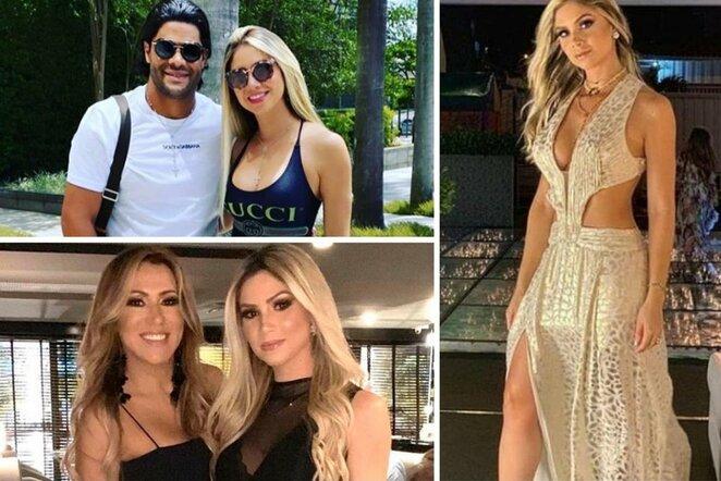 Hulkas su C.Angelo (kairėje viršuje), Iran ir Camila Angelo (kairėje apačioje) ir C.Angelo   Instagram.com nuotr