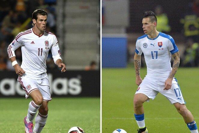 Garethas Bale'as ir Marekas Hamšikas | Scanpix nuotr.