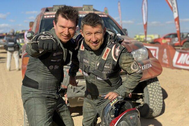 Antanas Juknevičius ir Darius Vaičiulis   Organizatorių nuotr.
