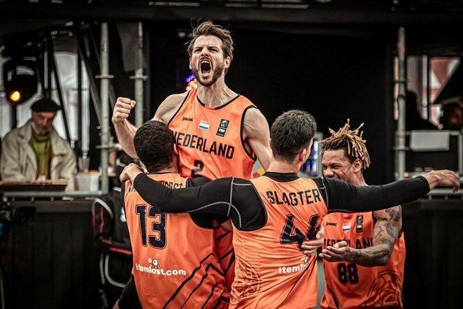 Olandų triumfas prieš amerikiečius   FIBA nuotr.