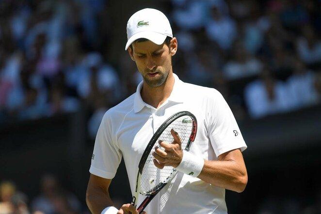 Novakas Djokovičius prieš Keviną Andersoną | Scanpix nuotr.