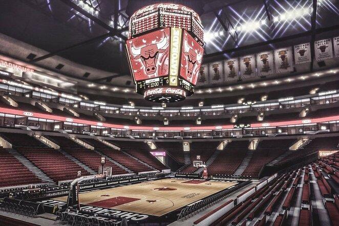 Bulls arena | Scanpix nuotr.