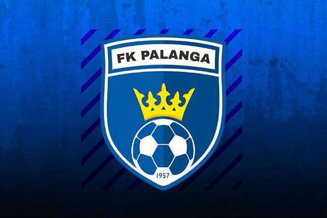 """FK """"Palanga"""" logotipas   Organizatorių nuotr."""