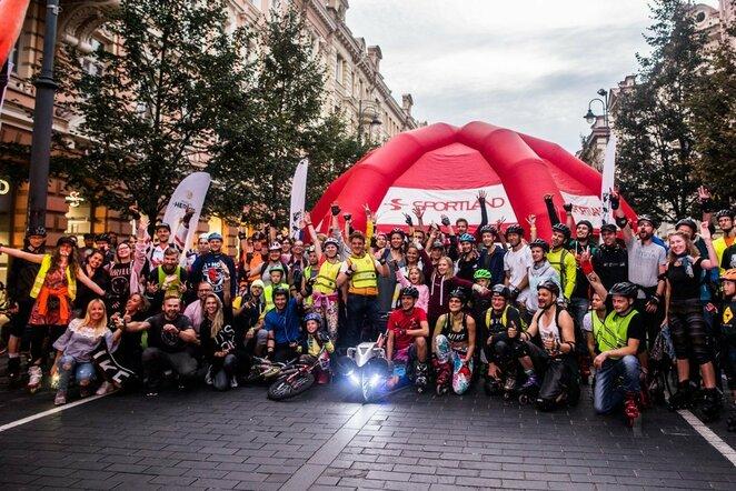 Vilniaus naktinis riedėjimas žada tikrą superherojų fiestą | Organizatorių nuotr.