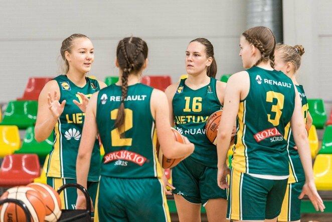 U17 merginų rinktinė pradėjo pasirodymą išskirtiniame FIBA projekte | Lino Žemgulio nuotr.