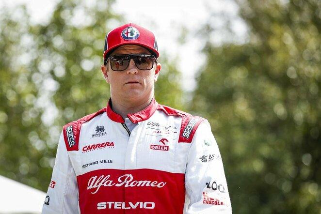 Kimi Raikkonenas   Scanpix nuotr.