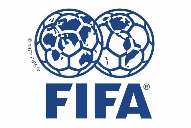 FIFA logo | Organizatorių nuotr.