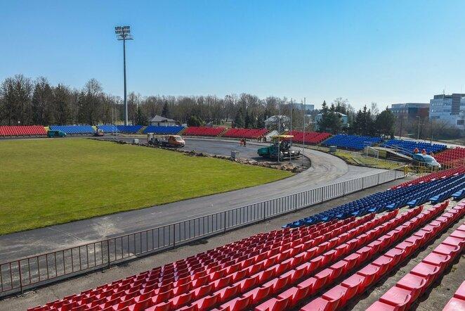 Aukštaitijos stadionas   Organizatorių nuotr.