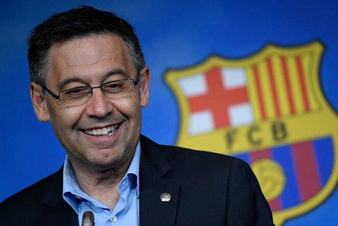 Katalonų prezidentas Josepas Maria Bartomeu | Scanpix nuotr.