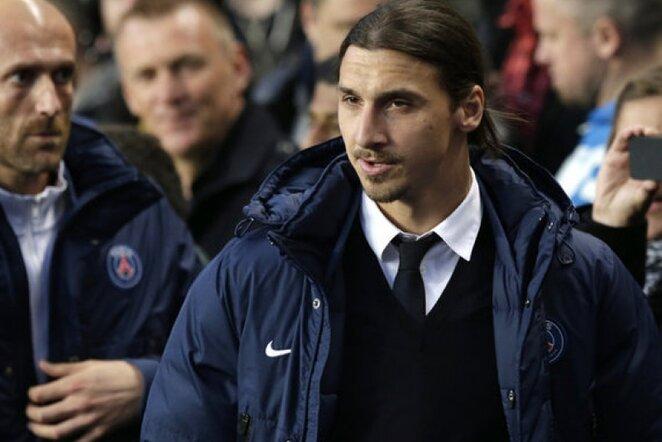 Zlatanas Ibrahimovičius | AP/Scanpix nuotr.