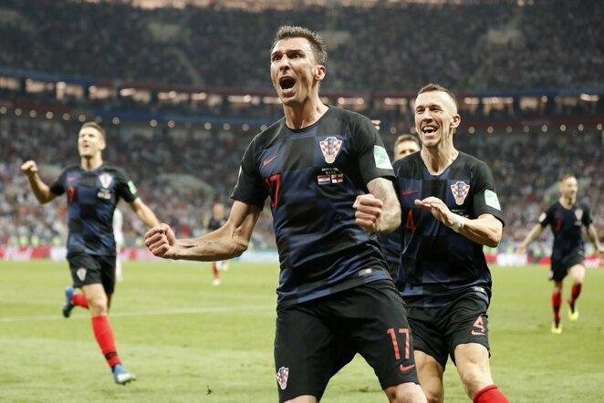 Kroatų triumfas | Scanpix nuotr.