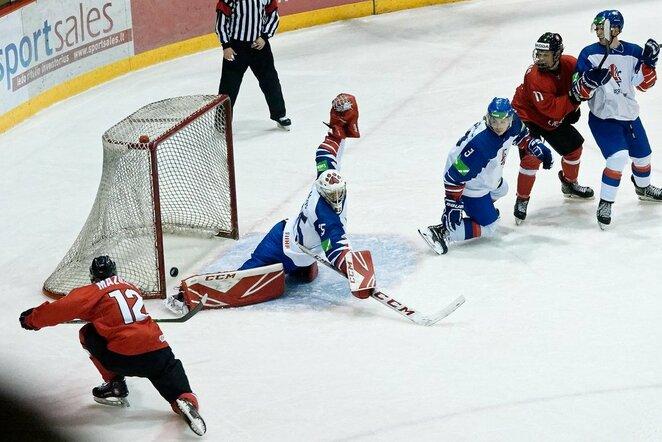 Lietuva – Didžioji Britanija rungtynių akimirka | Sportas.lt/Tito Pacausko nuotr.