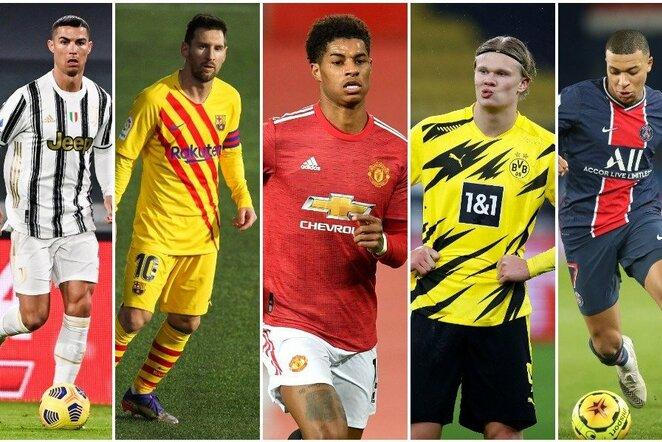Futbolo žvaigždės | Scanpix nuotr.