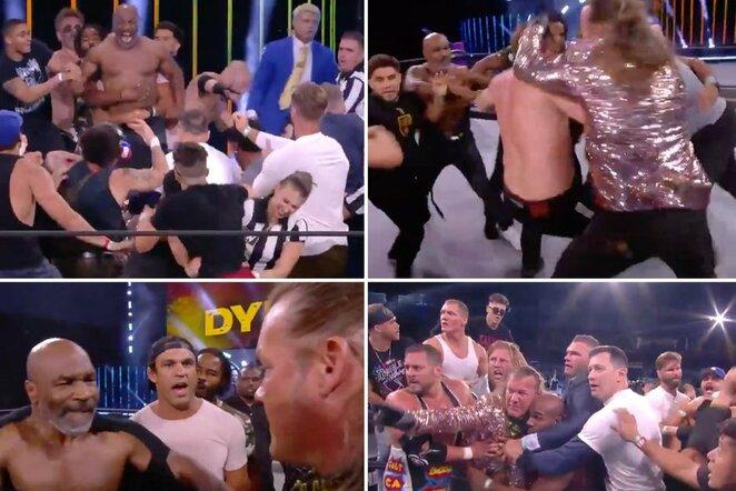 "AEW (""All Elite Wrestling"") | ""Stop"" kadras"