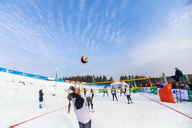 Sniego tinklinis   Augusto Četkausko nuotr.