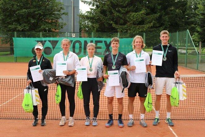 Lietuvos jaunių teniso čempionatas   Organizatorių nuotr.