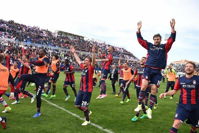 """Crotone"" futbolininkai | Scanpix nuotr."