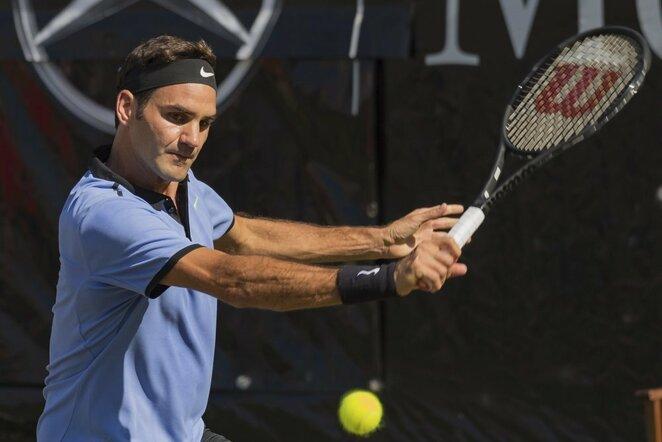 Rogeris Federeris   Scanpix nuotr.