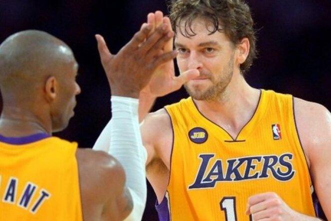"""Lakers"" laukia sunkus sezonas (Scanpix nuotr.)"