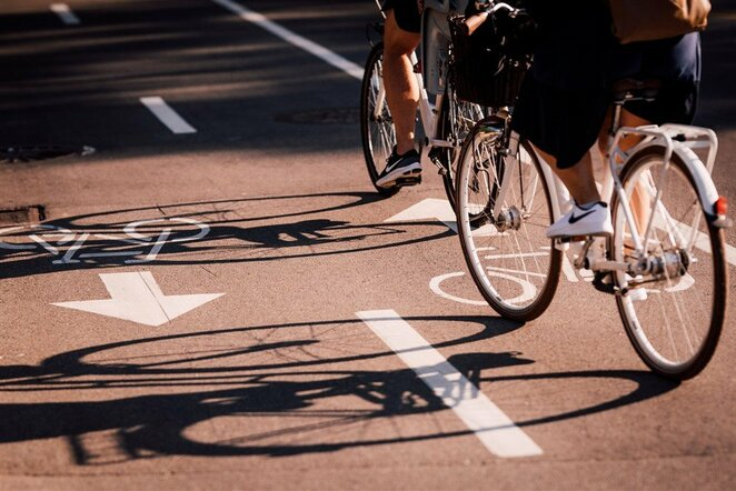 Važiavimas dviračiu | Ryčio Šeškaičio nuotr.