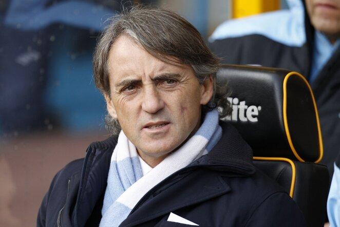 Roberto Mancini   AFP/Scanpix nuotr.