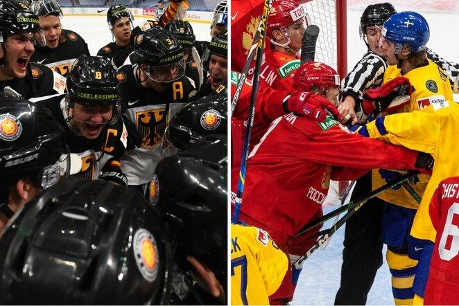 Vokietija   of Rusija ir Švedija   IIHF nuotr.