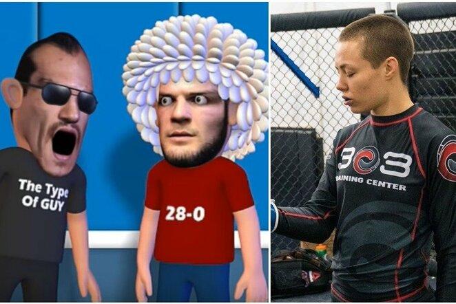 """Nežinomybė prieš """"UFC 249"""" turnyrą   Youtube.com nuotr."""
