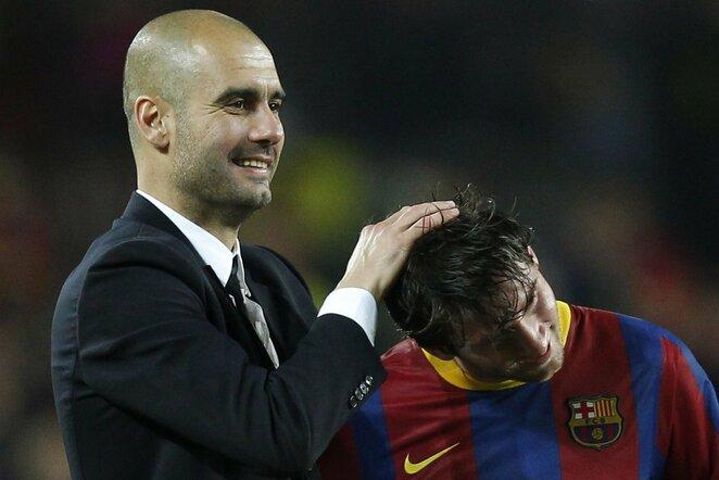 Josepas Guardiola ir Lionelis Messi | Scanpix nuotr.