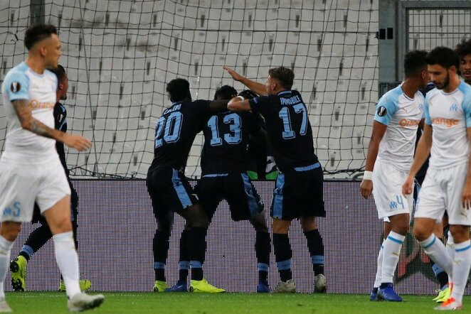 """Marseille"" – ""Lazio"" rungtynių akimirka | Scanpix nuotr."