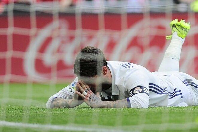 """Athletic Bilbao"" – ""Real Madrid"" rungtynių akimirka | Scanpix nuotr."