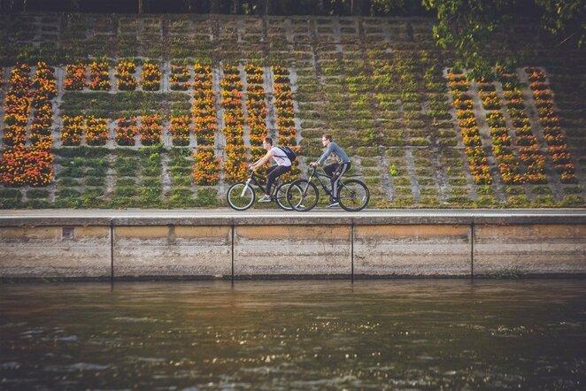 Važiavimas dviračiu   Edgaro Buiko nuotr.