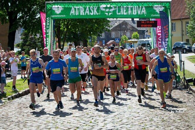 Bėgimas Pagėgiuose   Roko Lukoševičiaus nuotr.