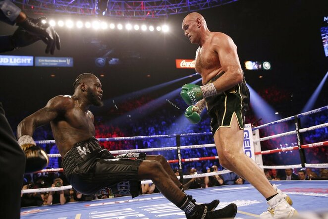 Tysonas Fury prieš Deontay Wilderį | Scanpix nuotr.