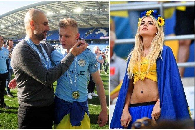 """Pepas Guardiola, Oleksandras Zinčenka ir Vlada Sedan-Zinčenka   """"Scanpix"""" ir instagram.com nuotr."""