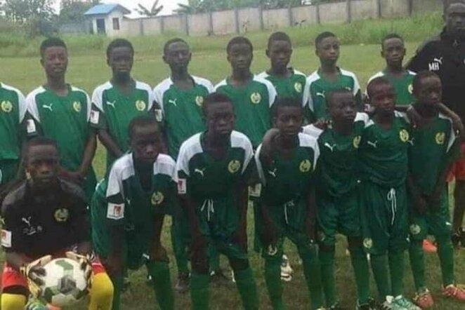 """African Vision FC"" komanda | ""Twitter"" nuotr."