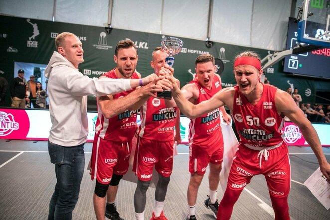 """Hoptrans 3x3"" turnyro finalas | Juliaus Kalinsko / BNS foto nuotr."