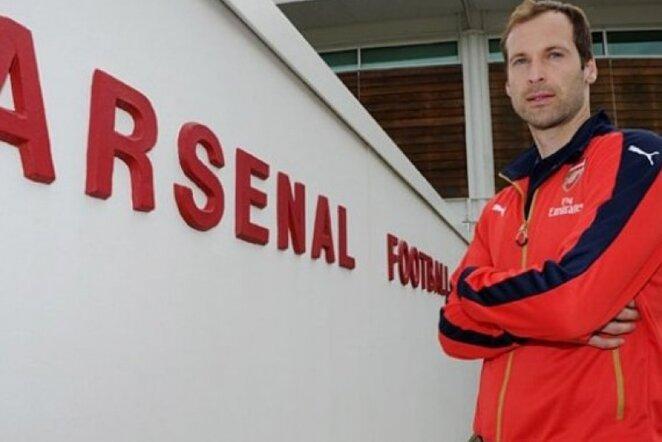 """Petras Čechas tapo """"Arsenal"""" klubo nariu   arsenal.com nuotr."""