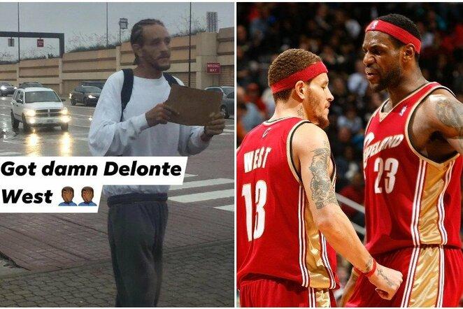 Delonte Westas ir LeBronas Jamesas | Scanpix nuotr.