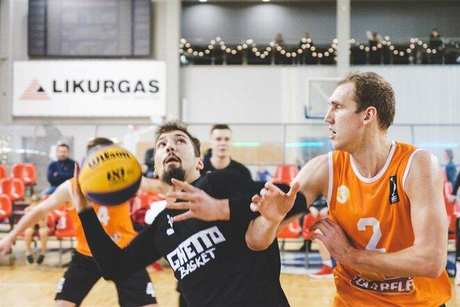 "Antrasis ""Hoptrans Winter Open"" 3x3 krepšinio žiemos sezono etapas | Luko Bendinsko nuotr."