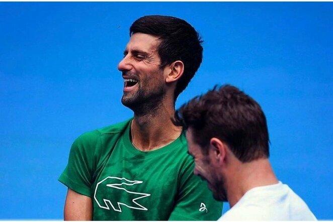 Novakas Djokovičius | Instagram.com nuotr